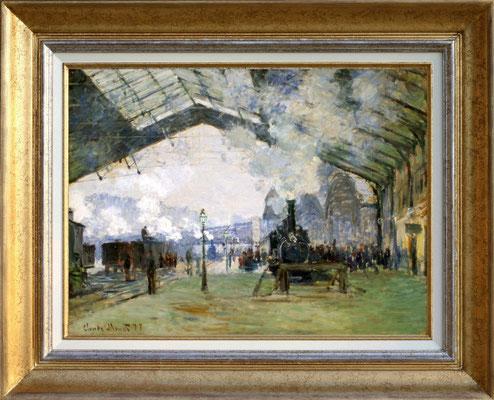 "Monet ""gare St Lazare"""