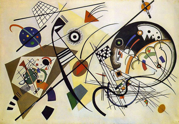 Kandinsky, traverse line