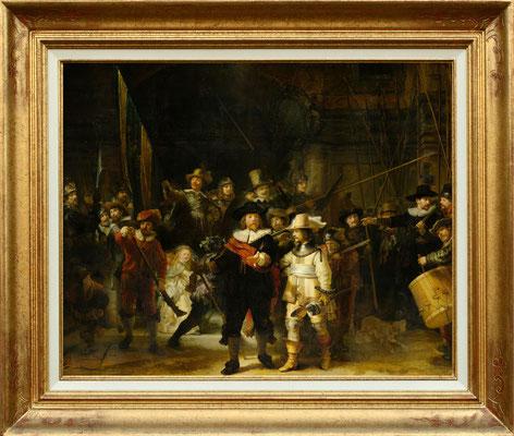 Rembrandt , la ronde de nuit