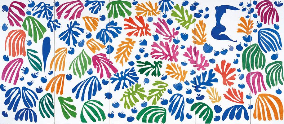 Matisse, panneau