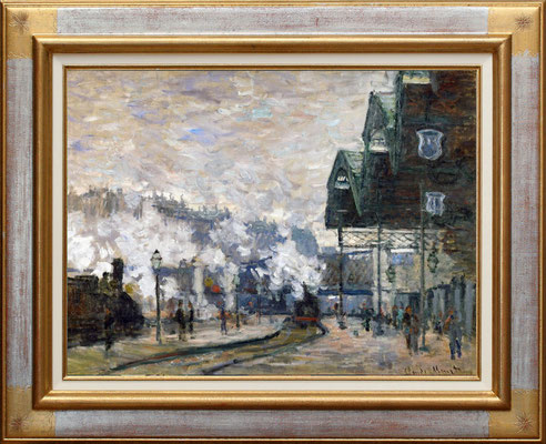 Monet, gare St Lazare dock ouest