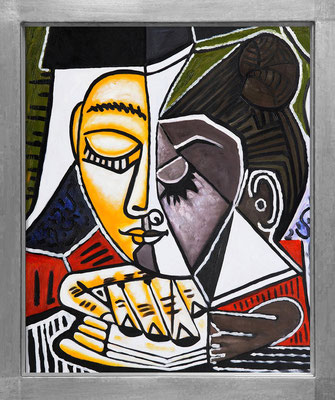 Picasso, Tête de femme lisant