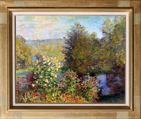 Monet, coin de jardin à Montgeron