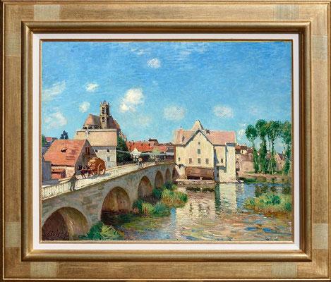 Sisley, le pont de Moret