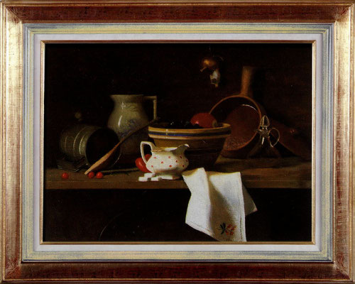 Murray Stockes, inspiration Chardin