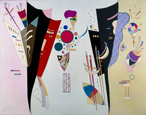 Kandinsky, accord réciproque, 1942