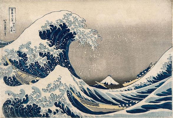 "Hokusai, Katsushika ""La Grande Vague"""