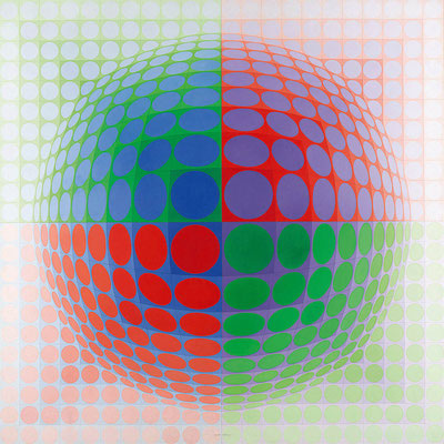 Vasarely, in the labyrinth of modernism