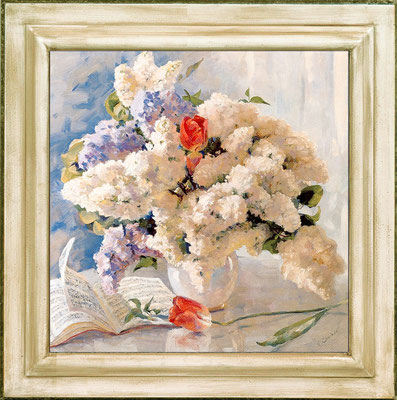 Chuikov, lilas blanc