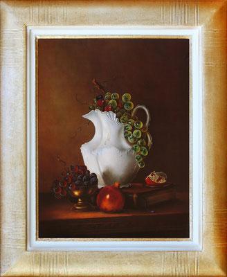 Galvez, raisins et porcelaine