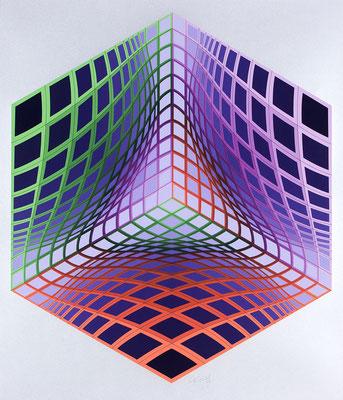 Vasarely, test tarka