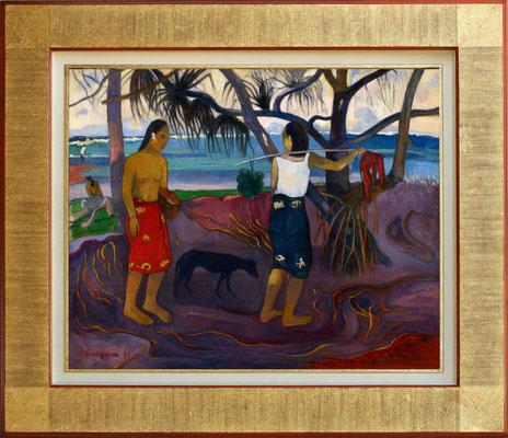 Gauguin, le pandanus
