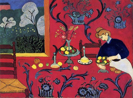 Matisse, la desserte