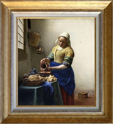 Vermeer, la laitère
