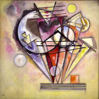 Kandinsky, auf Spitzen