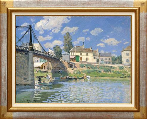 Sisley, pont de Villeneuve la Garenne
