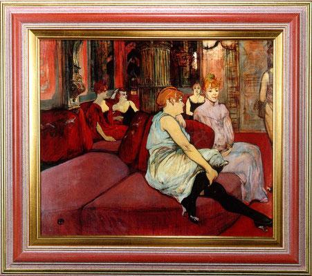 Toulouse Lautrec, cabaret