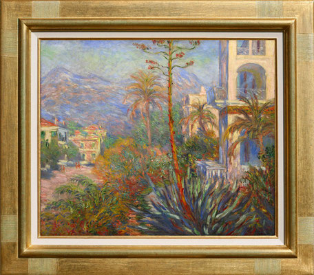 "Monet ""Villa à Bordigherra"""