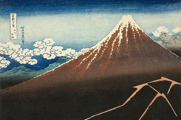 "Hokusai, Katsushika ""Le Volcan"""