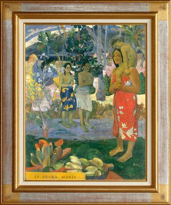 """Gauguin """"je vous salue Marie"""""""