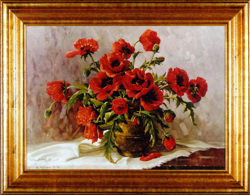 Kruger, coquelicots