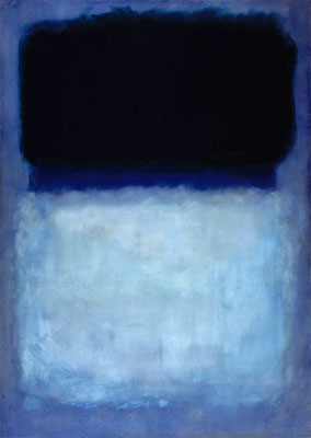 Rothko, Green on blue 1956
