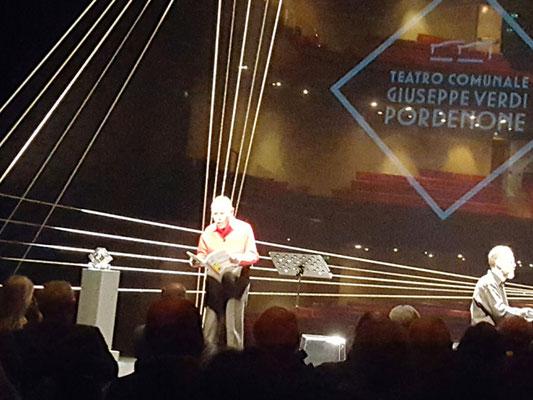 Melologo con Quirino Principe, premiato 2016