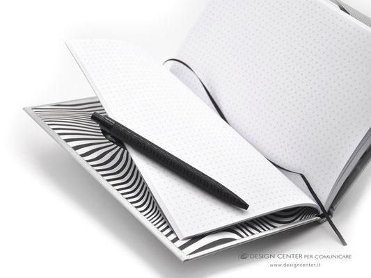 NO_22  - Taccuino con fogli personalizzati con quadretti