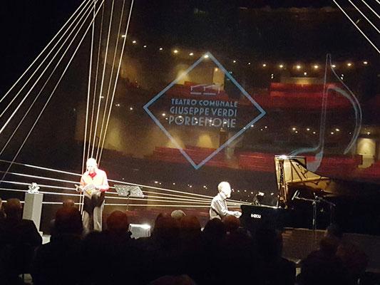 Melologo con Quirino Principe, al pianofort Renato Principe