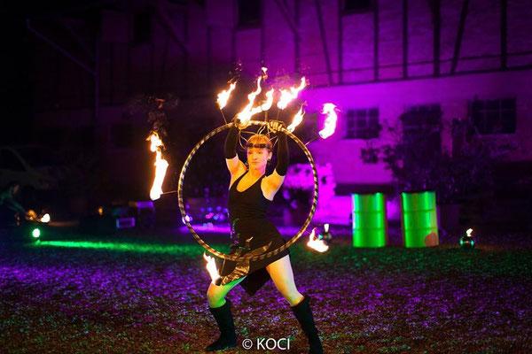 Fantômes de Flammes - Feuershows und Lightshows in Feldkirch