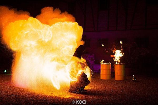 Fantômes de Flammes - Feuershows und Lightshows in Salzburg