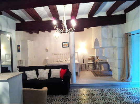 Loire Valley Medieval Loft -  Rental near Tours city - Loire Valley Accomodation