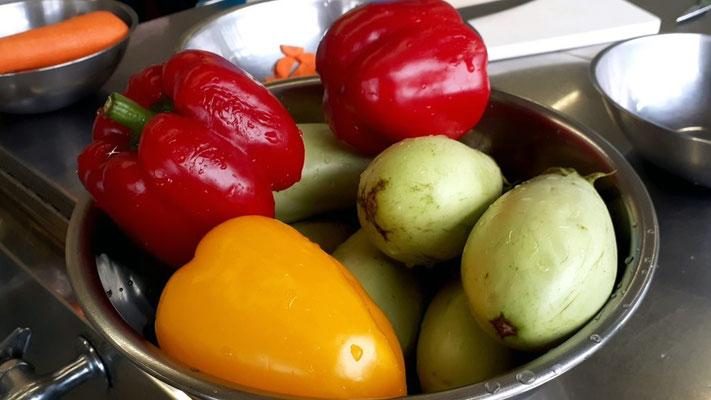色鮮やかな夏野菜~💛