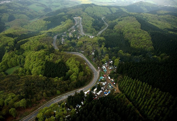 Nürburgring von oben