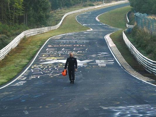 Nürburgring zu Fuß