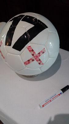 Bild: Freie Trauung Fußballtrauung im Restaurant Marck mit AMG-Freie Rednerin