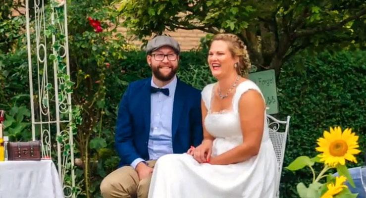 Bild: Brautpaar Hamburg mit A.M.G - Freie Rednerin