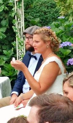 Bild: Brautpaar, Hamburg mit A.M.G - Freie Rednerin