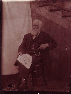 Moses Hersch Ertdheim mit dem Ha Magid, Boryslaw um 1910