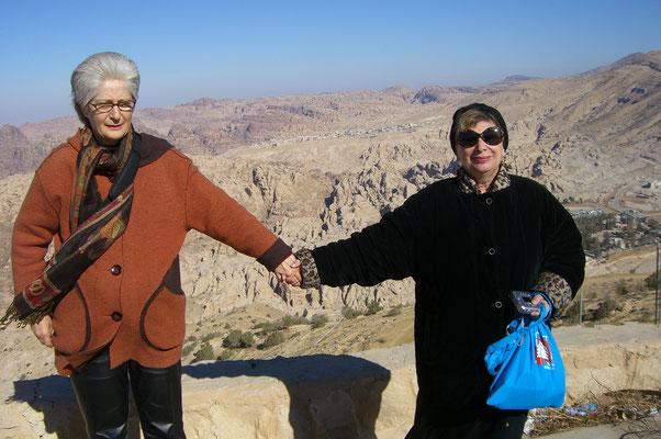 Claudia Erdheim und Inge Maux, Israel 2008