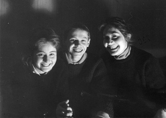 Claudia, Reinhard Priessnitz, Maria 1962