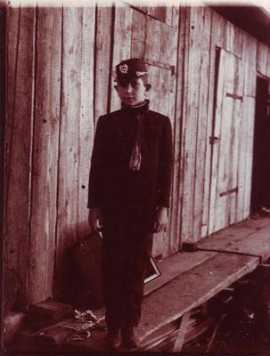 Eduard Erdheim in Gymnasiastenuniform 1916