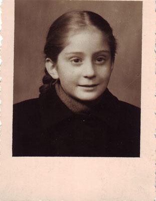 Claudia 1. Gymnasialklasse 1955