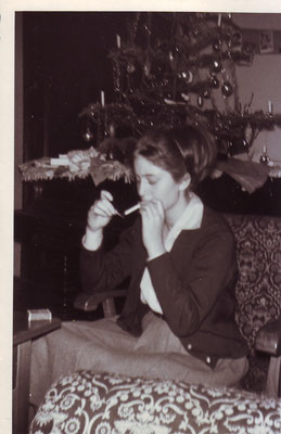 Claudia Weihnachten 1960/61