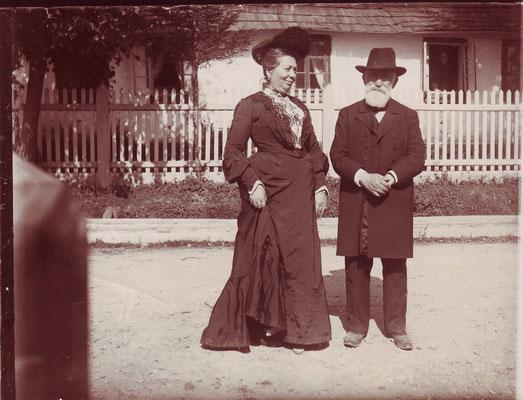 Esther und Moses Hersch, Boryslaw um 1900