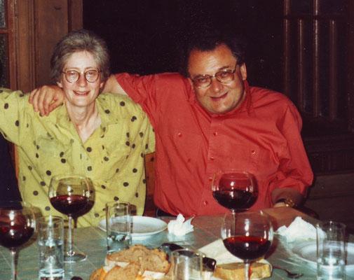 Claudia Erdheim und Horst Thome, Wien 1990