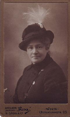 Sophie Erdheim, um 1910
