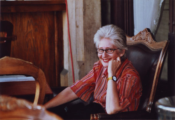 Claudia Erdheim, Krakau 2003 (Foto Angela Schneider)