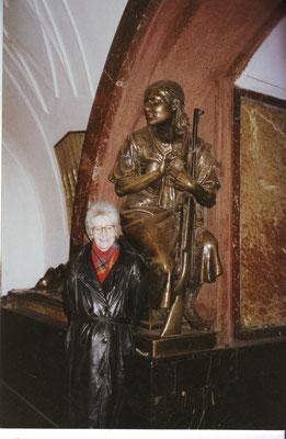 Moskau 1997, Metrostation: Platz der Revolution