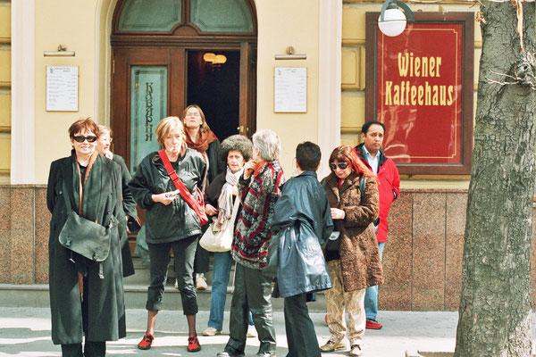 Lemberg, Reisegesellschaft unter Claudia Erdheims Leitung 2006